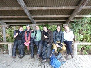 We survived the Tongariro Alpine Crossing