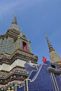 Wat Pho is one of the largest and oldest in Bangkok