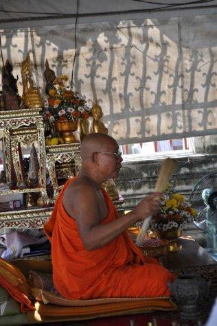 Monk at Wat Arun