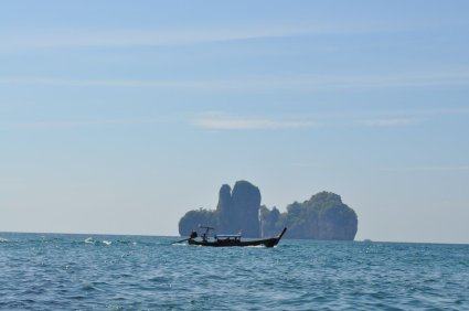 Long-tail boat Thailand