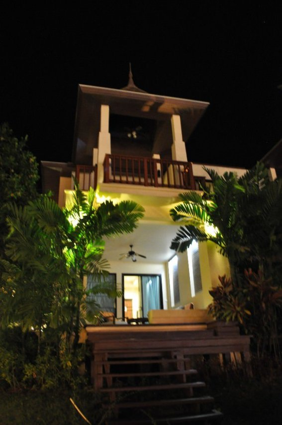 Our room at the Crown Lanta Resort & Spa