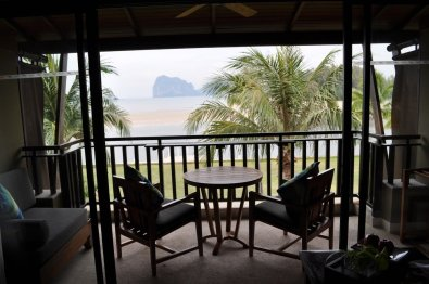 View from our room at Anantara Resort & Spa