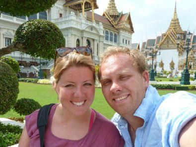 Bill & Eva at The Grand Palace