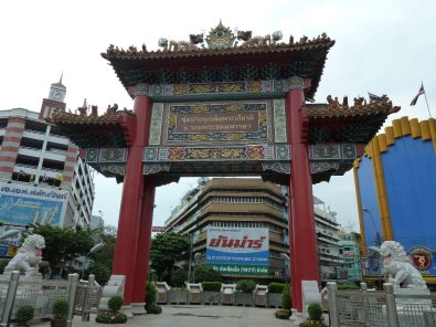 Gate at start of China town