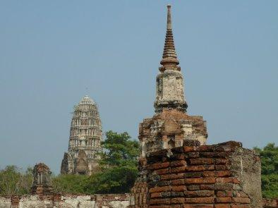 Ayutthaya ruins date back to 1448