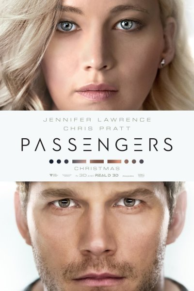 """Poster for the movie """"Passengers"""""""