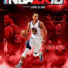 NBA 2K16 Steph Curry cover
