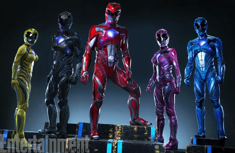 EW's first look at The Power Rangers in their suits