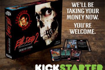 Crowdfunding | Evil Dead II Board Game Coming To Kickstarter