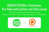 LINE Webtoon & Patreon Team Up To Support Webcomic Creators
