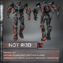 Hot Rod from Transformers: The Last Knight