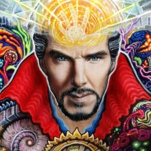 Marvel's Doctor Strange Blacklight IMAX poster