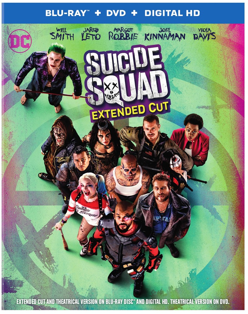 Suicide Squad Blu-Ray/DVD/Digital HD cover