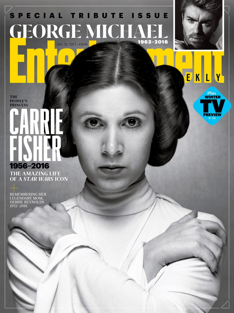 Entertainment Weekly Carrie Fisher Special Tribute Issue