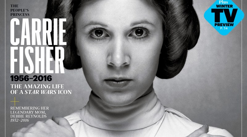 Entertainment Weekly Carrie Fisher Special Tribute Issue Cover