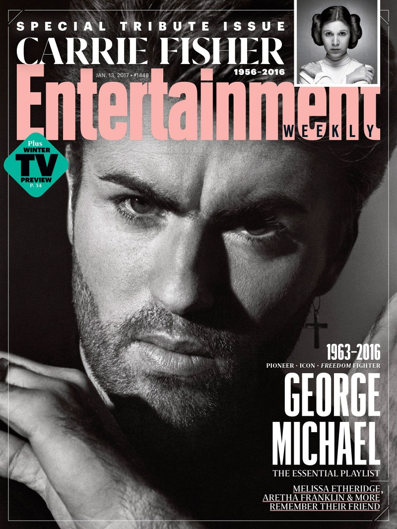 George Michael Entertainment Weekly Special Tribute Issue Cover