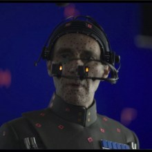 Guy Henry as Grand Moff Tarkin from Rogue One: A Star Wars Story