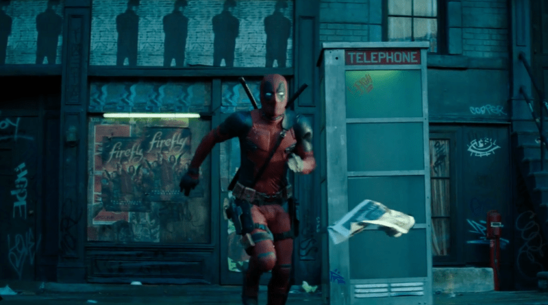 Deadpool 2 teaser screenshot