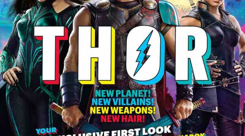 Entertainment Weekly featuring Thor: Ragnarok leads
