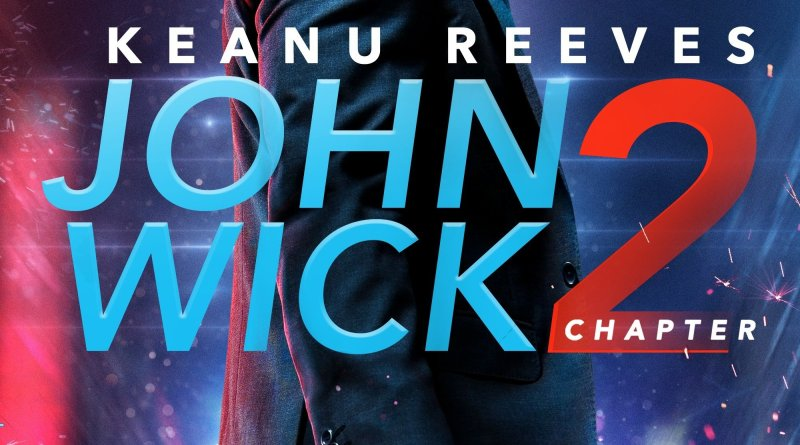 "Poster for the movie ""John Wick: Chapter 2"""