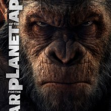 "Poster for the movie ""War for the Planet of the Apes"""