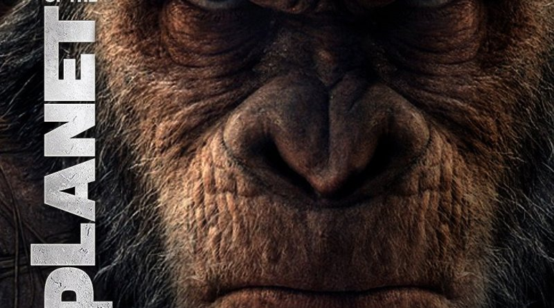 """Poster for the movie """"War for the Planet of the Apes"""""""
