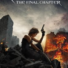 "Poster for the movie ""Resident Evil: The Final Chapter"""