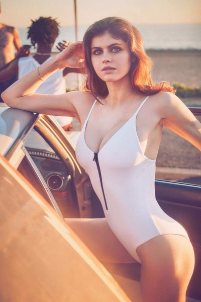 Alexandra Daddario GQ Mexico photoshoot