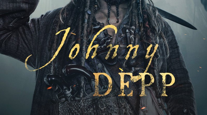 Pirates Of The Caribbean: Dead Men Tell No Tales character poster