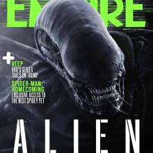 Empire Magazine's Alien: Covenant cover