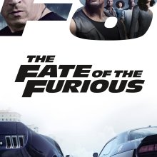 "Poster for the movie ""The Fate of the Furious"""