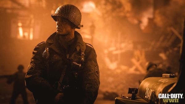 Call Of Duty: WWII still