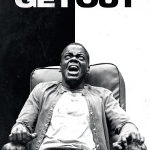 "Poster for the movie ""Get Out"""
