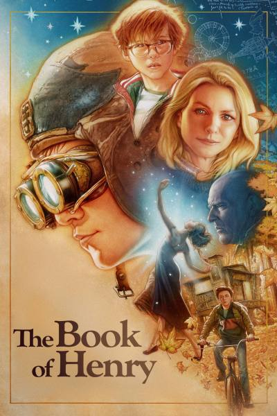 "Poster for the movie ""The Book of Henry"""