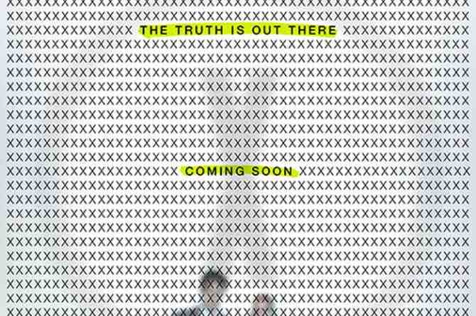 The X-Files teaser poster