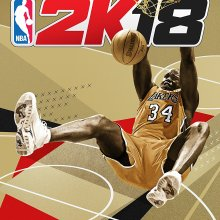 2K18 Legend Edition Shaquille O'Neal cover