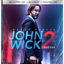 John Wick: Chapter 2 Ultra HD cover