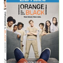 Orange Is The New Black Season 4 Blu-Ray/Digital HD cover