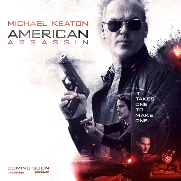 American Assassin character poster
