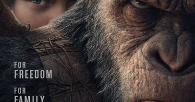 War For The Planet Of The Apes poster (20th Century Fox)