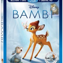 Bambi 75th Anniversary Edition Blu-Ray/DVD/Digital HD combo
