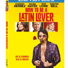 How To Be A Latin Lover Blu-Ray cover (Lionsgate Home Entertainment)