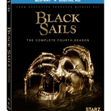 Black Sails: Season 4 Blu-Ray cover (Lionsgate Home Entertainment)