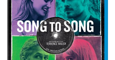 Song To Song Blu-Ray cover (Broad Green Pictures)