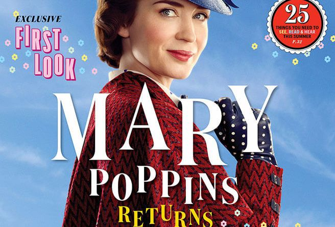 Mary Poppins Entertainment Weekly cover