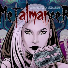 Reading Geek | Metalmancer: A story about heavy metal and witchcraft!