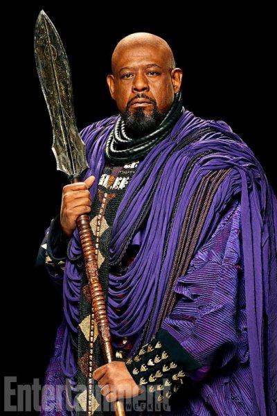 Black Panther portraits courtesy of Entertainment Weekly/Marvel/Walt Disney Studios