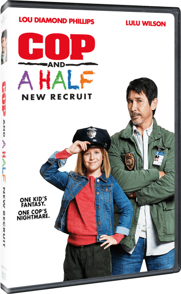 Cop And A Half: New Recruit DVD cover (Universal Pictures Home Entertainment)