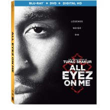 All Eyez On Me Blu-Ray/DVD/Digital HD cover (Lionsgate Home Entertainment/Codeblack Entertainment)