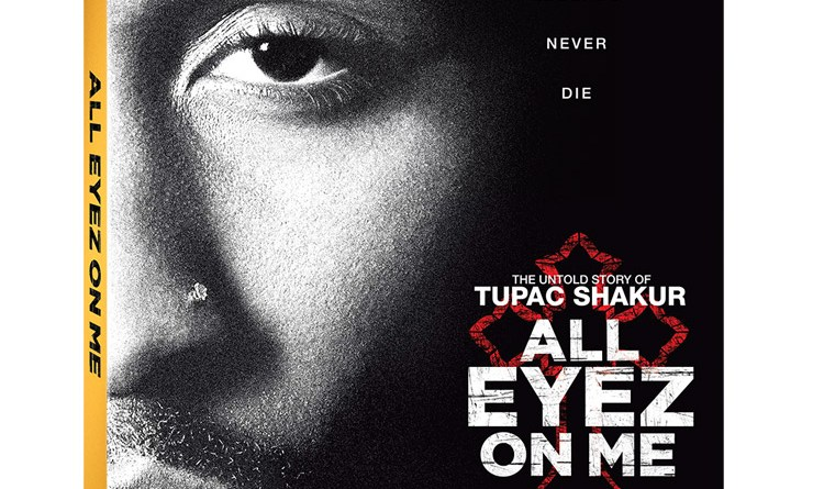 All Eyez On Me Blu-Ray/DVD/Digital HD cover (Lionsgate Home Entertainment/Codeblack Entertainment)